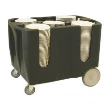Тележка для посуды регулируемая TAA-6