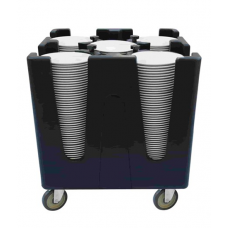 Тележка для посуды регулируемая TAA-4
