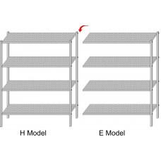 Стеллаж для пищеблока модульный H - E Model (Глубина 36 cm)
